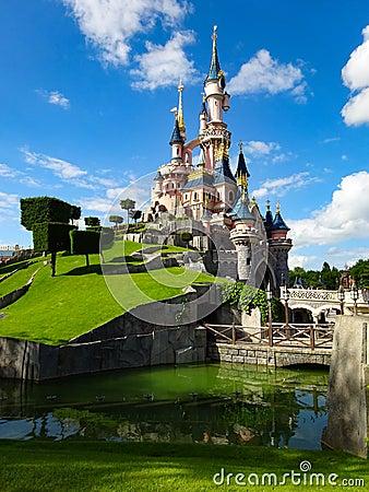 Disneyland Paris Castle Editorial Stock Photo