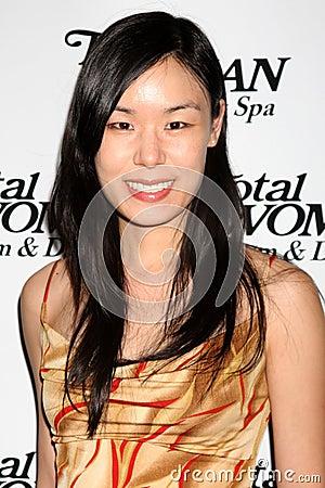 May Wang Editorial Photo