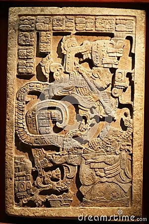 Maya art sculpture 2