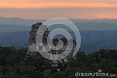 Maya ruins at Tikal
