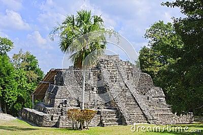Chacchoben Mayan Temple, Costa Maya, Mexico