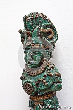 Maya warrior figure