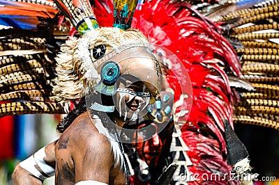 Mayan Ancient Warriors Editorial Image