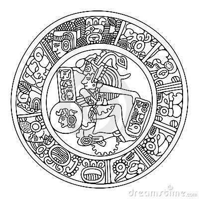 Mayan Artwork Stock Photos - Image: 7297873