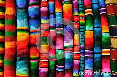 Mayan blankets from Guatemala