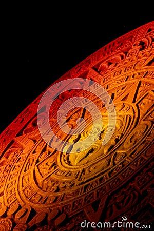 Free Mayan Calendar. Royalty Free Stock Photography - 23610197