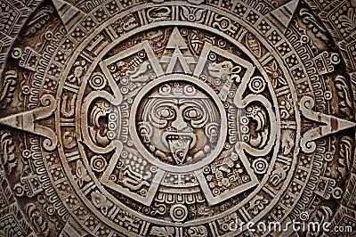 Mayan Calendar Royalty Free Stock Image - Image: 23782146