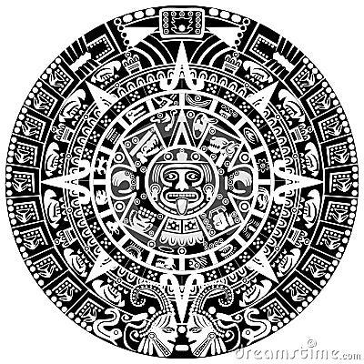Free Mayan Calendar Royalty Free Stock Photo - 28794215
