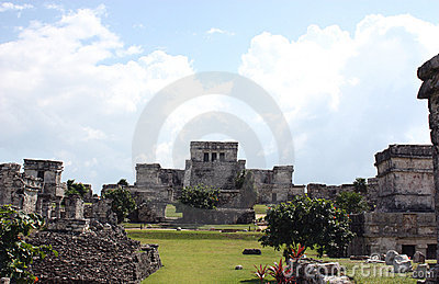 Mayan city of tulum