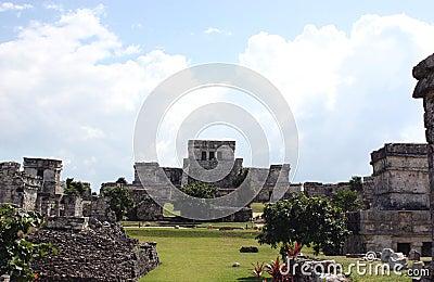 Mayan city of tulum