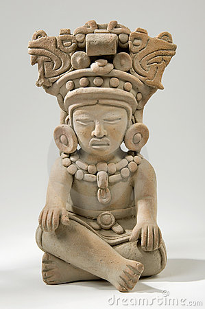Mayan Clay Sculpture