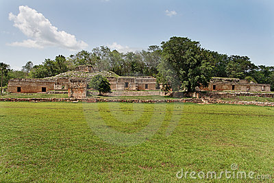 Mayan Complex in Labna Yucatan Mexico