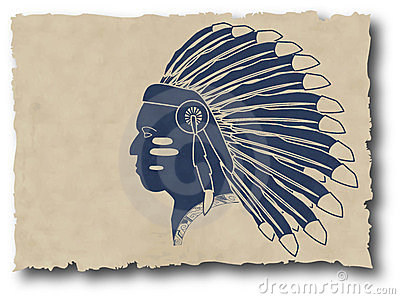Mayan and inca tribal