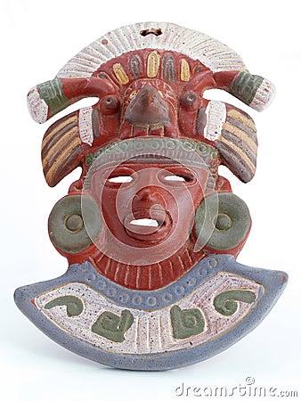 Mayan Mask.