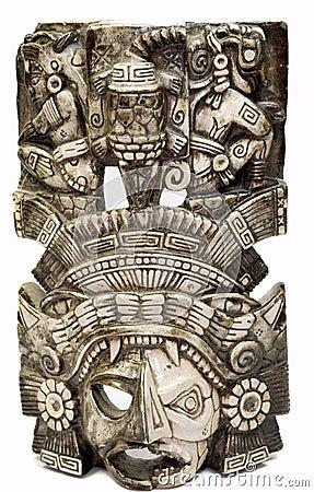 Mayan mask 4