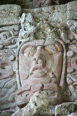 Free Mayan Mask Stock Image - 485501