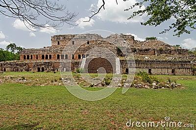 Mayan Palace in Sayil Yucatan Mexico