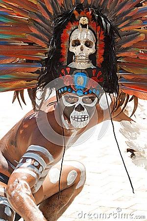 Mayan portrait Editorial Photography