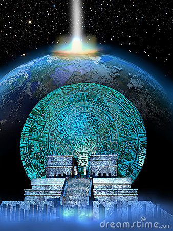 Free Mayan Predictions Royalty Free Stock Image - 22518866
