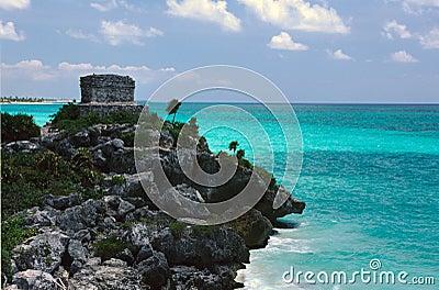 Mayan Ruin near Tulum