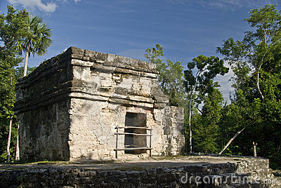 Mayan ruins at San Gervasio
