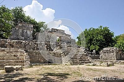 Mayan Ruins at Xcaret Park