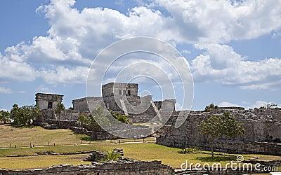 Mayan Ruïne in Tulum