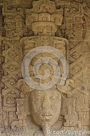 Free Mayan Standing Stones, Quirigua, Guatemala Royalty Free Stock Photo - 44577965
