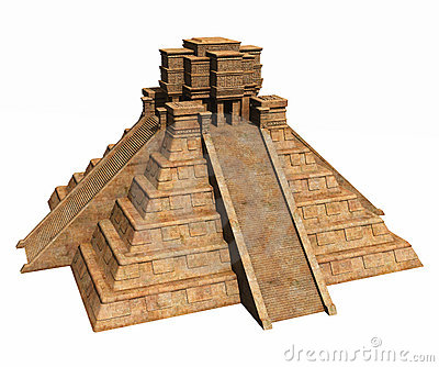 Mayan Temple Clipart mayan temple white stock illustrations, vectors ...