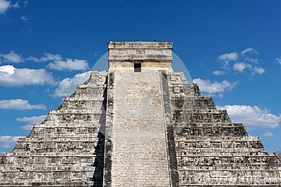 Mayan Temple Pyramid at Chichen Itza