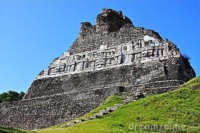 Mayan Temple Ruins at Xunantunich