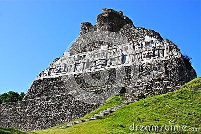 Mayan Temple Ruins at Xunantunich
