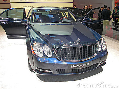 Maybach 575 Editorial Photo