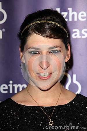 Mayim Bialik Editorial Stock Photo
