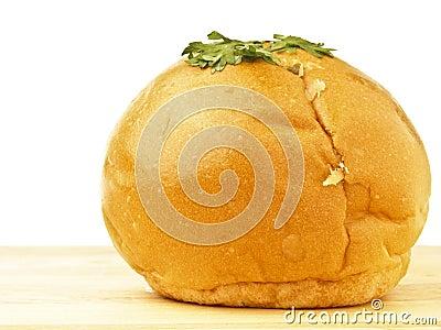 Mayo bread on wood