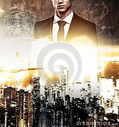 Free Mayor And Modern Megapolis Stock Images - 51478654