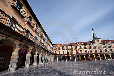 Mayor square of Leon