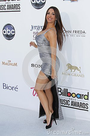 Mayra Veronica at the 2012 Billboard Music Awards Arrivals, MGM Grand, Las Vegas, NV 05-20-12 Editorial Stock Image