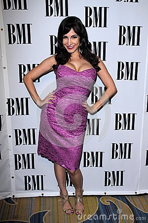 Mayra Veronica at the BMI Pop Awards, Beverly Wilshire Hotel, Beverly Hills, CA 05-15-12 Editorial Photography