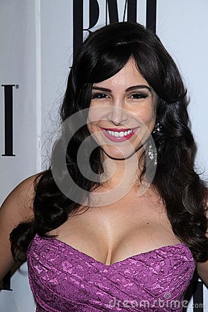 Mayra Veronica at the BMI Pop Awards, Beverly Wilshire Hotel, Beverly Hills, CA 05-15-12 Editorial Image