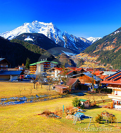Free Mayrhofen, Austria Royalty Free Stock Photo - 4495185