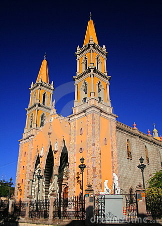 Free Mazatlan Cathedral Royalty Free Stock Photo - 2476045