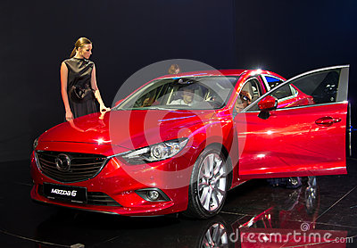 Mazda 6 Editorial Stock Image