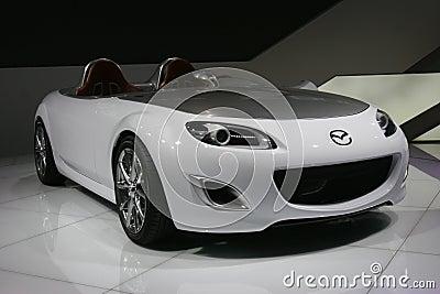 Mazda concept car Editorial Photo