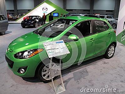 Mazda Economy Wagon Editorial Image