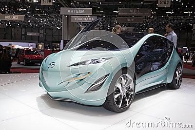 Mazda Kiyora Prototype - 2009 Geneva Motor Show Editorial Photography
