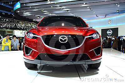 MAZDA Minagi Crossover Concept car Editorial Stock Image