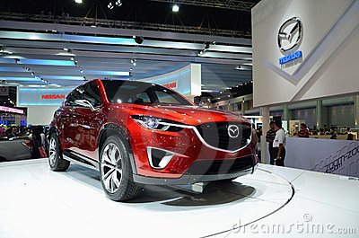 MAZDA Minagi Crossover Concept car Editorial Stock Photo