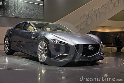 MAZDA Shinari Concept car Editorial Stock Photo