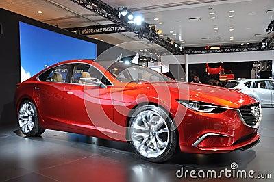 Mazda Takeri Editorial Photo